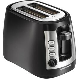 2 Slice Black Coolwall Toaster, with Extra Wide Slots thumb