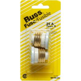 2 Pack 25 Amp Time Delay Fuses thumb