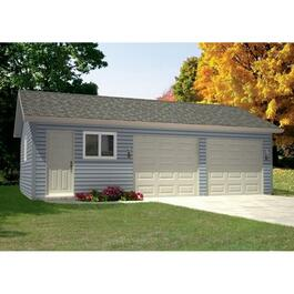 Drywall Option Package, for 32' x 20' Garage thumb