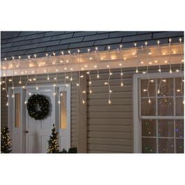 150 Incandescent Clear Icicle Light Set thumb