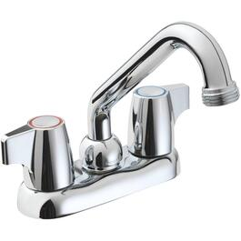 Threaded Chrome Laundry Faucet thumb