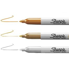 3 Pack Fine Tip Metallic Markers thumb