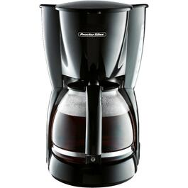 12 Cup Black Cone Coffee Maker thumb