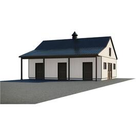 28' x 36' x 10' Horse Stable Farm Building Package thumb