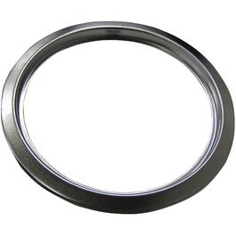 "8"" Satin Chrome Trim Ring thumb"