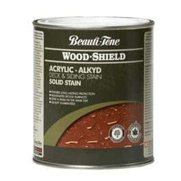 850mL Solid Clear Base Alkyd Acrylic Wood Stain thumb