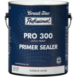 3.78L White PRO 300 Interior Latex Primer Sealer thumb