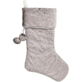 "20"" Taupe Fur Stocking thumb"