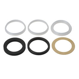 6 Pack Slip Joint Drain Washers, Assorted Sizes thumb