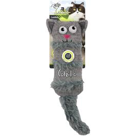 Catzilla Crinkle Cuddler Cat Toy, Assorted Colours thumb