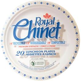 20 Pack Chinet Lunch Plates thumb