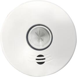 10-Year Battery Operated Wireless Talking Smoke Detector with LED Safety Light thumb