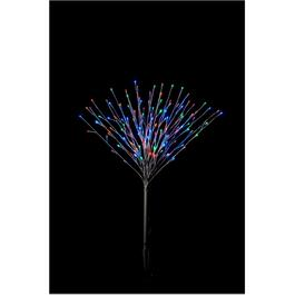"35.5"" Twig Burst Stake, with 140 Multi Coloured Lights thumb"