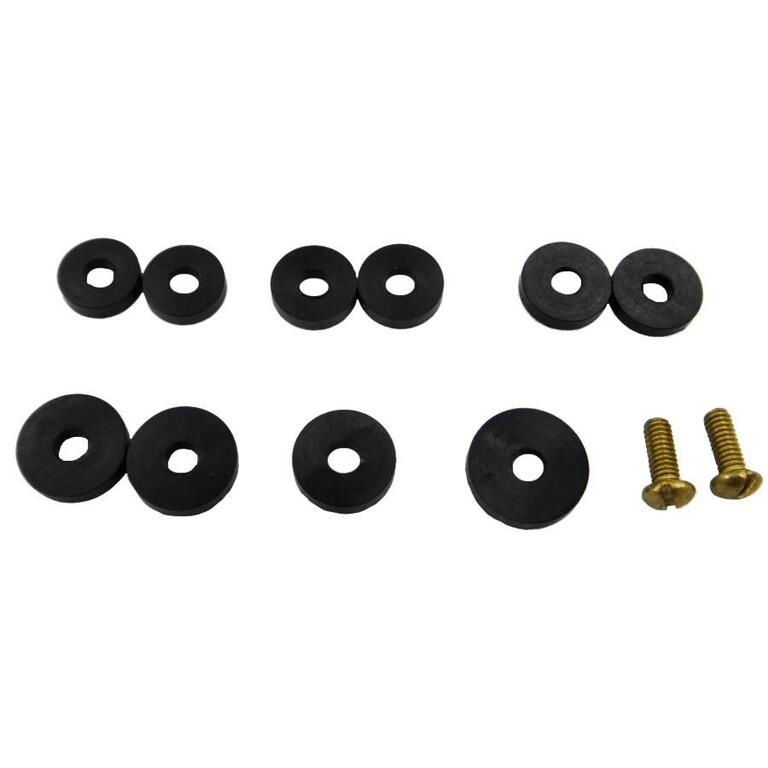 10 Pack Flat Faucet Washers, Assorted Sizes - Home Hardware
