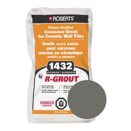 25lb Charcoal Grey Unsanded Wall Grout thumb
