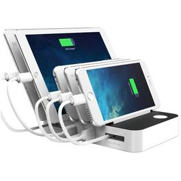 5 Port USB Smart Charging Station thumb