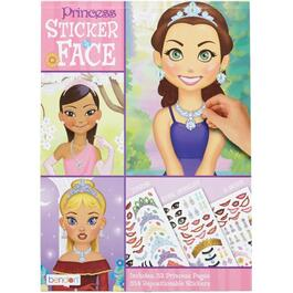 Create-A-Face Activity Book, Assorted Themes thumb