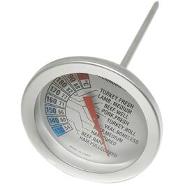 "5.25"" Stainless Steel Meat Barbecue Thermometer thumb"