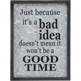 "12"" x 16"" Good Time Wall Plaque thumb"
