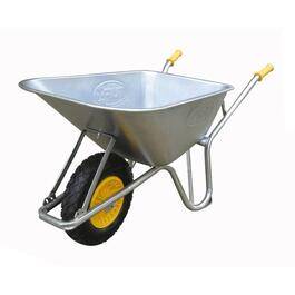 6 Cu. Ft Steel Tray Contractor Wheelbarrow thumb
