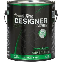 3.48L Medium Base Satin Finish Interior Latex Paint thumb