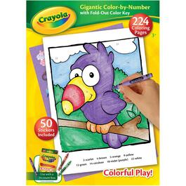 224 Page Colouring and Activity Book, Assorted Books thumb