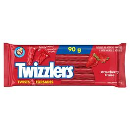 90g Twizzlers Strawberry Twists Licorice thumb
