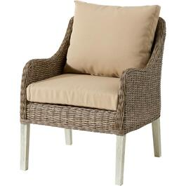 Arabella Wicker Club Chair, with Cushion thumb
