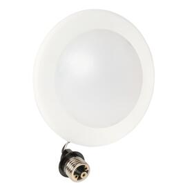 "4-6"" 13 Watt LED Retro Fit Recessed Dimmable Soft White Light Fixture thumb"