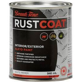 946mL White Alkyd Rust Primer thumb