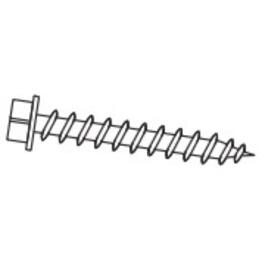 "2"" #9 Zinc Wood Grip Metal Screw thumb"