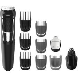 Battery Operated 13 Piece Multigroom Trimmer, with Lilon thumb