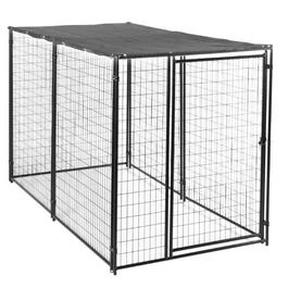 6' x 5' x 10' Dog Kennel, with Sunshade thumb