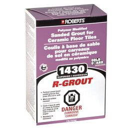 4lb White Sanded Floor Grout thumb