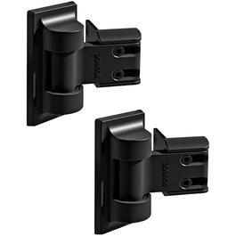 2 Pack Black Modern Self Closing Gate Hinges thumb