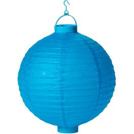 "13"" Hanging Battery Operated LED Chinese Lantern, Assorted Colours thumb"