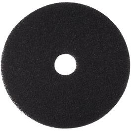 "5 Pack 17"" Black Niagara Floor Stripping Pads thumb"