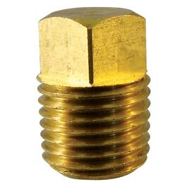 "3/8"" Brass Square Head Plug thumb"