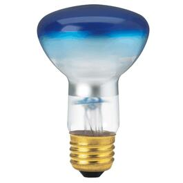 50W R20 Medium Base Blue Light Bulb thumb