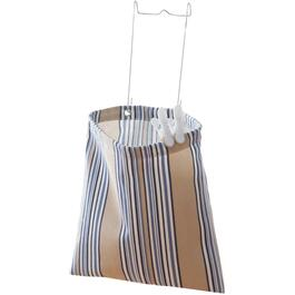 "11"" x 11.8"" Canvas Hanging Clothespin Bag thumb"