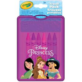 Princess Colouring Book and Crayons Travel Pack thumb