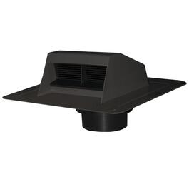 Black Roof Vent, with Flapper thumb