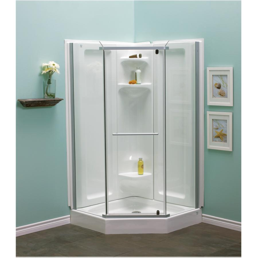 38 Clearsilver Acrylic Angle Shower Cabinet Home Hardware