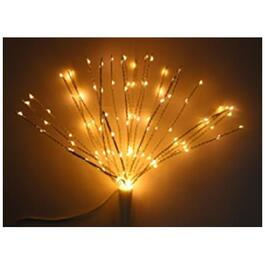 "15"" Starburst Tree Topper, with 125 Warm White LED Lights thumb"