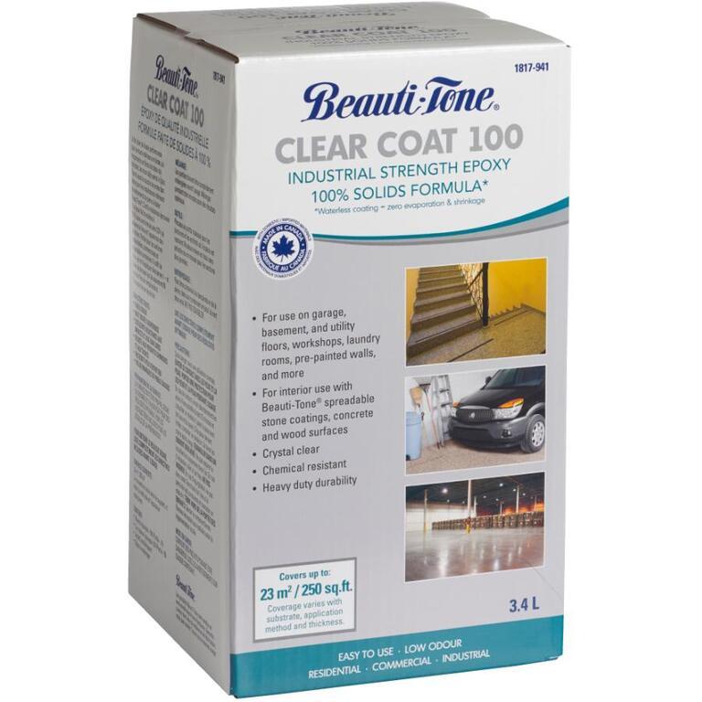 BEAUTI-TONE 3 4L Clear Epoxy Coating