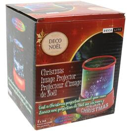 Battery Operated Colour Changing Christmas Light Projector thumb
