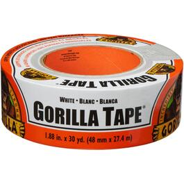 "1.88"" x 30YD Gorilla White Duct Tape thumb"
