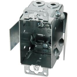 "2-1/2"" Non-Gangable Switch Box with Rework Bracket thumb"