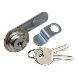 "1/4"" Chrome Utility Drawer Lock thumb"