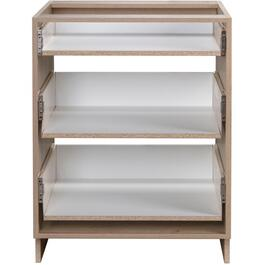 "30"" 3-Drawer Organic Knockdown Base Cabinet thumb"